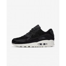 Nike Air Max 90 LX Lifestyle Shoes For Women Black/Dark Grey/Sail 224NXQYJ