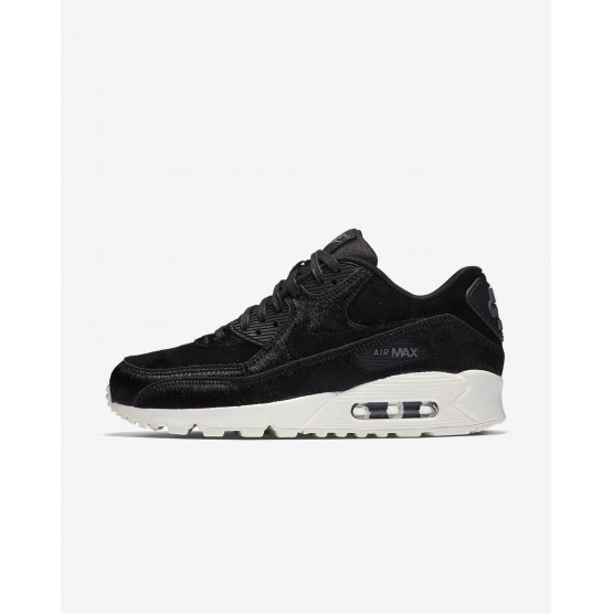 Nike Air Max 90 LX Lifestyle Shoes For Women Black/Dark Grey/Sail 224NXQYJ