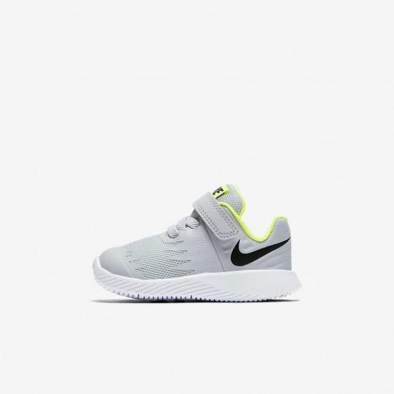 Nike Star Runner Running Shoes For Girls Wolf Grey/Volt/White/Black 559FZTKA