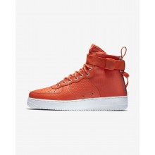 Nike SF Air Force 1 Mid Lifestyle Shoes For Men Team Orange/Black 325WRMAS