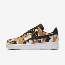 Nike Air Force 1 07 Low Camo Lifestyle Shoes For Men Team Orange/Circuit Orange/Light Orewood Brown/Black 555RZGLN