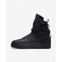 Zapatillas Casual Nike SF Air Force 1 Mujer Negras 708FDATB