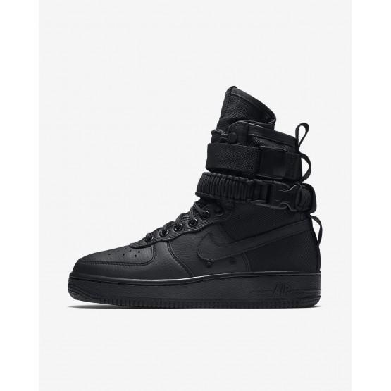Zapatillas Casual Nike SF Air Force 1 Mujer Negras 708FDATB