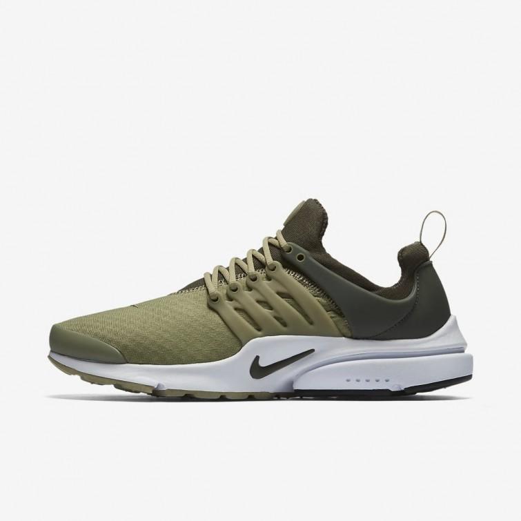 Chaussure Casual Nike Air Presto Essential Homme Vert Olive/Kaki/Noir 935ZYALM