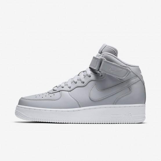 Zapatillas Casual Nike Air Force 1 Mid 07 Hombre Gris/Blancas 115KGJLQ