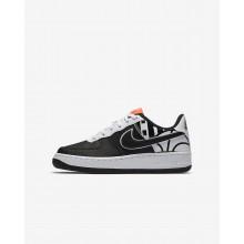 Chaussure Casual Nike Air Force 1 LV8 Garcon Noir/Blanche 310YIJPU