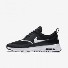 Zapatillas Casual Nike Air Max Thea Mujer Negras/Blancas 996DLXYQ