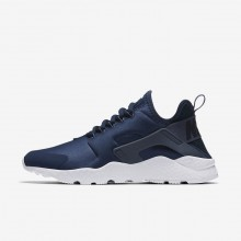 Nike Air Huarache Ultra Lifestyle Shoes For Women Navy/Obsidian/White/Diffused Blue 311LPESJ
