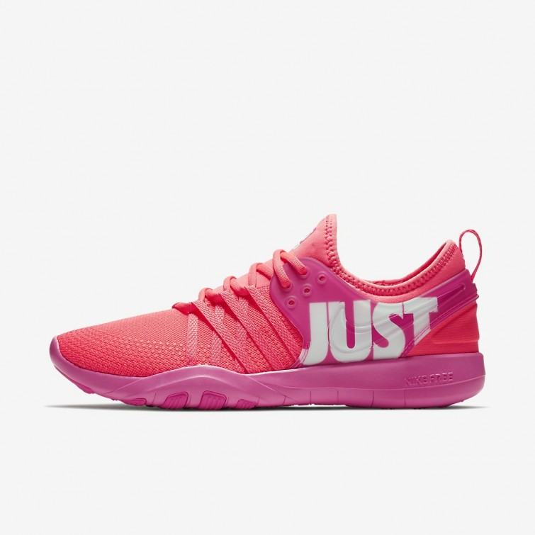 new product 914e0 80d09 Nike Free Trainer 7 Premium Training Shoes For Women Hot PunchPink  BlastWhite