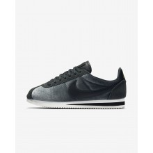 Nike Cortez SE Lifestyle Shoes For Women Anthracite/Metallic Gold/Black 413ACXIW