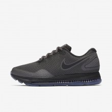 Sapatilhas Running Nike Zoom All Out Low 2 Mulher Obsidiana/Pretas 453YHISN