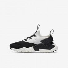 Zapatillas Casual Nike Huarache Run Drift Niño Negras/Blancas 439DZXWV