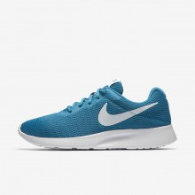 Nike Tanjun Lifestyle Shoes For Women Neo Turquoise/White 832MFNQY