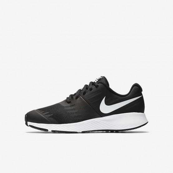 Nike Star Runner Hardloopschoenen Meisjes Zwart/Wit 361QHIVB