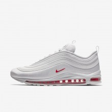 Nike Air Max 97 Ultra 17 L Lifestyle Shoes For Men Vast Grey/Total Orange/Atmosphere Grey 237VGNYH