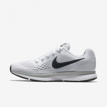 Nike Air Zoom Pegasus 34 Running Shoes For Women White/Pure Platinum/Wolf Grey/Anthracite 883PGCIW