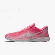 Nike Flex 2017 RN Running Shoes For Women Sunset Pulse/Arctic Punch/White 257FAHNU