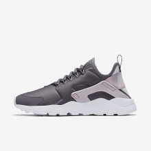 Nike Air Huarache Ultra Lifestyle Shoes For Women Gunsmoke/Particle Rose/White/Vast Grey 181AYSNE