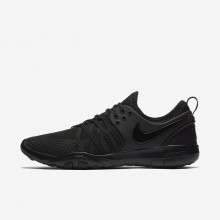 Nike Free TR7 Training Shoes For Women Black/Dark Grey 671OFWPK
