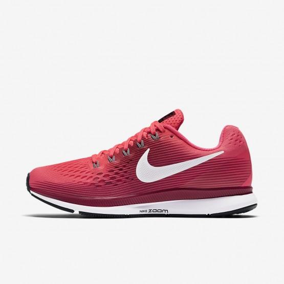 Nike Air Zoom Pegasus 34 Running Shoes For Women Racer Pink/Vast Grey/Atmosphere Grey/Gunsmoke 455XRQWO