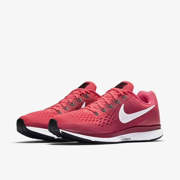 a018ef7c11919 ... Nike Air Zoom Pegasus 34 Running Shoes For Women Racer Pink Vast Grey  Atmosphere