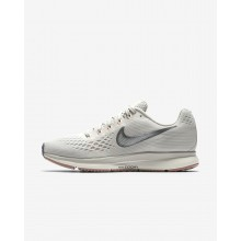 Nike Air Zoom Pegasus 34 Running Shoes For Women Light Bone/Pale Grey/Sail/Chrome 698YDMPL