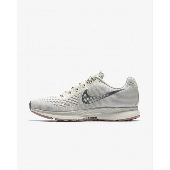 Zapatillas Running Nike Air Zoom Pegasus 34 Mujer Claro Gris 478PGMIL