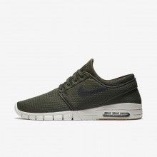 Nike SB Stefan Janoski Max Skateboarding Shoes For Men Sequoia/Gum Medium Brown/Light Bone/Black 678VIMEU