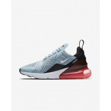 Nike Air Max 270 Lifestyle Shoes For Women Ocean Bliss/Black/Hot Punch/White 647RHTWD