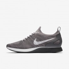 Nike Air Zoom Mariah Flyknit Racer Lifestyle Shoes For Men Gunsmoke/Atmosphere Grey/Dark Grey/White 216PJRSF