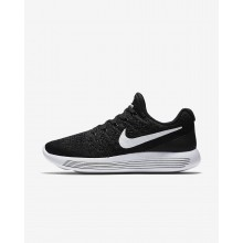 Nike LunarEpic Low Flyknit 2 Running Shoes For Women Black/Anthracite/White 930YEDSR