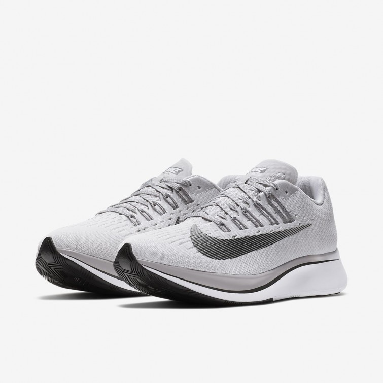2562cd850b31f ... Nike Zoom Fly Running Shoes For Women Vast Grey Atmosphere Grey  Gunsmoke Anthracite