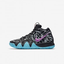 Nike Kyrie 4 AS Basketbalschoenen Jongens Zwart/Wit 898JGBND