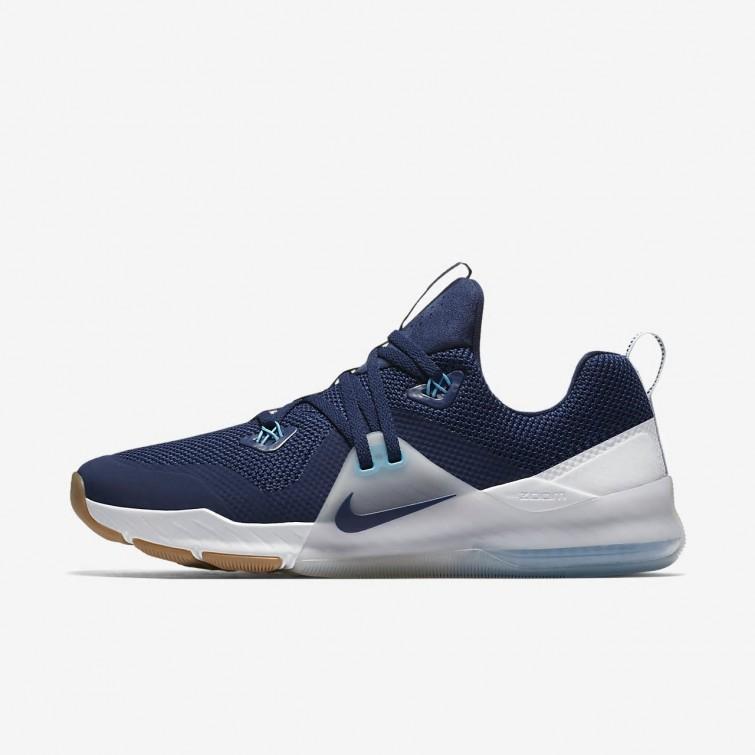 07a4b916a4 Deportivas Nike Zoom Train Command Hombre Azules/Plateadas/Blancas 716LTSQD
