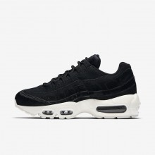 Nike Air Max 95 LX Lifestyle Shoes For Women Black/Dark Grey/Sail 937KYLHT
