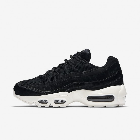 Zapatillas Casual Nike Air Max 95 LX Mujer Negras/Gris Oscuro 205ELSOJ