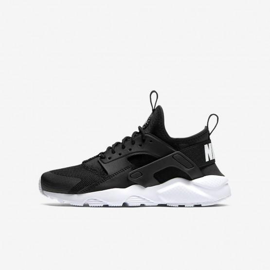 Zapatillas Casual Nike Air Huarache Ultra Niño Negras/Blancas 923MJXAF