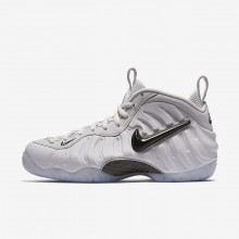 Nike Air Foamposite Pro QS Lifestyle Shoes For Men Vast Grey/Black 914VQPZI