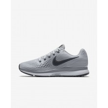 Nike Air Zoom Pegasus 34 Running Shoes For Women Pure Platinum/Cool Grey/Black/Anthracite 858GCNZJ
