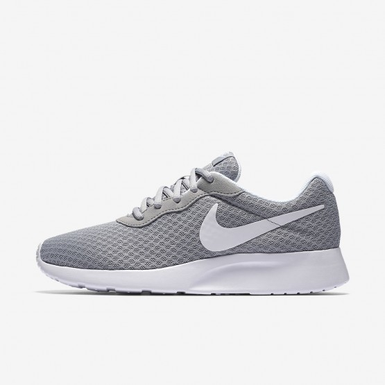 Nike Tanjun Lifestyle Shoes For Women Wolf Grey/White 817RKBCW
