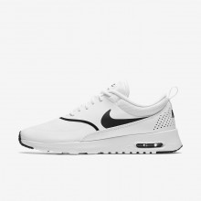 Sapatilhas Casual Nike Air Max Thea Mulher Branco/Pretas 959KZYCR