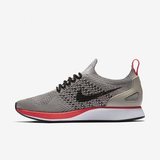 Nike Air Zoom Mariah Flyknit Racer Lifestyle Shoes For Women String/White/Solar Red/Black 314VTYBW