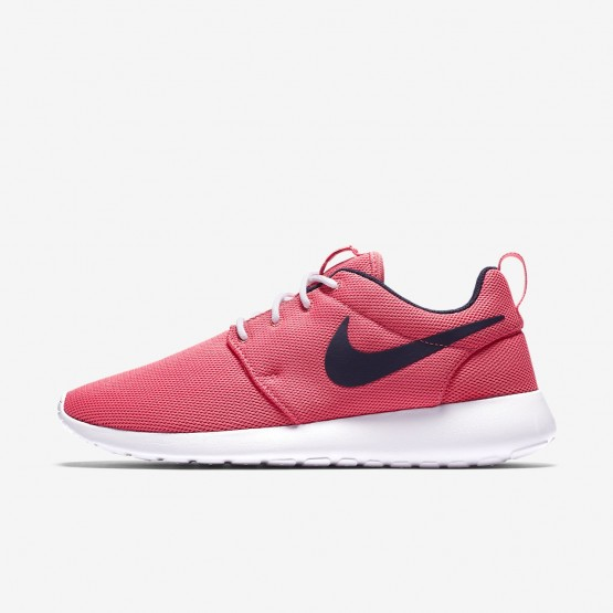 Nike Roshe One Lifestyle Shoes For Women Sea Coral/White/Obsidian 491ZUHPQ