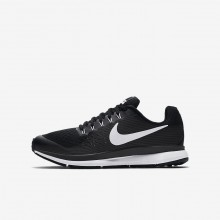 Nike Zoom Pegasus 34 Running Shoes For Boys Black/Dark Grey/Anthracite/White 824UWSNF