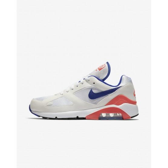 Zapatillas Casual Nike Air Max 180 Hombre Blancas/Rojas 919YJSVL