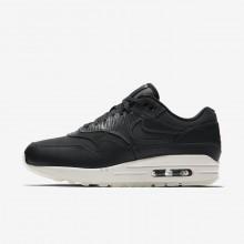 Nike Air Max 1 Premium Lifestyle Shoes For Women Anthracite/Black/Summit White 547GLIUR