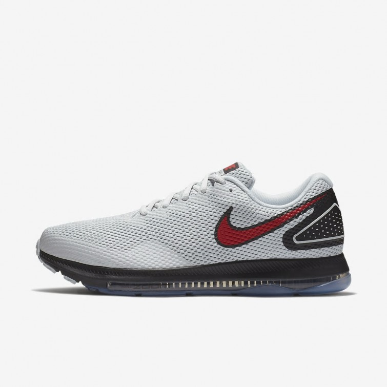 056a3c803a195 Nike Zoom All Out Low 2 Running Shoes For Men Pure Platinum Black University