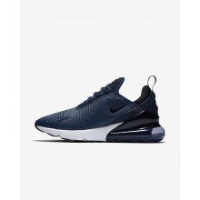 Nike Air Max 270 Lifestyle Shoes For Men Midnight Navy/White/Black 342QZPVT