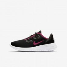 Zapatillas Casual Nike Hakata Niña Negras/Blancas/Rosas 833CJXZS