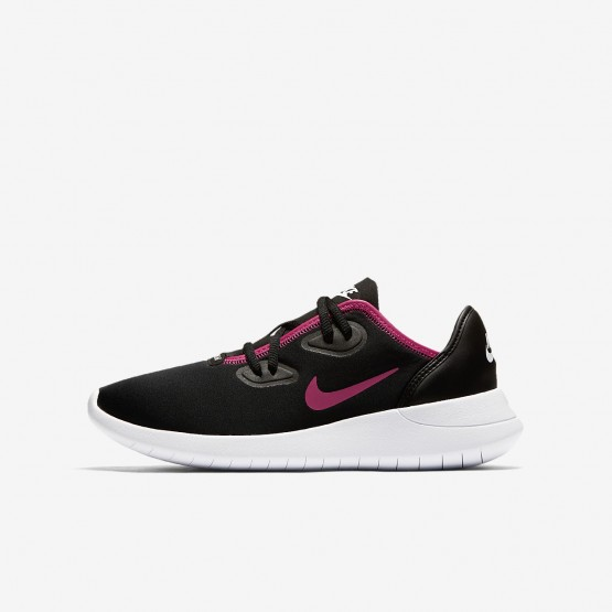 Sapatilhas Casual Nike Hakata Menina Pretas/Branco/Rosa 752TEIKS